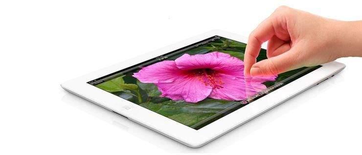 iPad z wyświetlaczem Retina