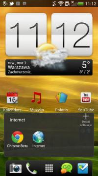 Nowy ekran główny w HTC One