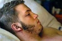 Jason Bunch po uderzeniu pioruna - źródło DenverPost.com