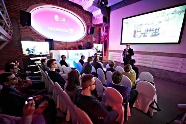 LG Cinema Screen w klubie Delite