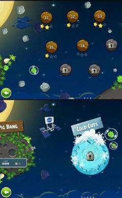 Nowa gra to 60 nowych, kosmicznych plansz. Oprócz tego w grze pojawią się także zupełnie nowe ptaki powiększając znaną nam już rodzinkę