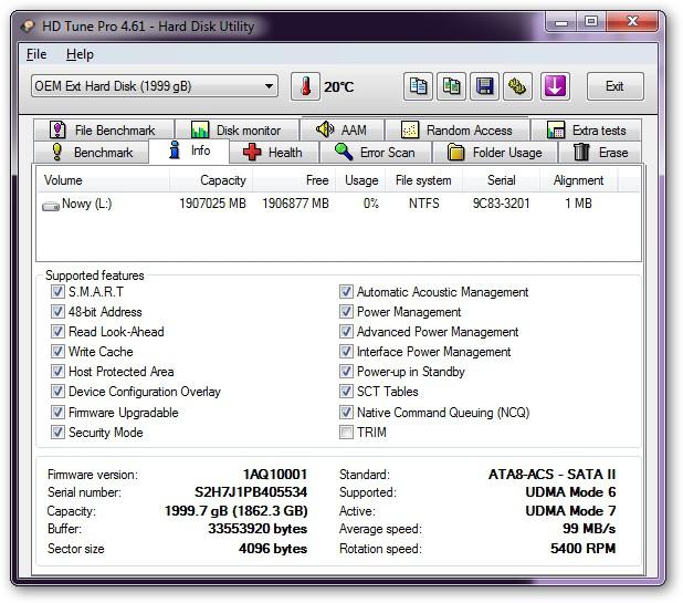 Iomega Prestige Desktop Hard Drive - dysk twardy