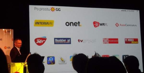 Wydawcy aplikacji na GG