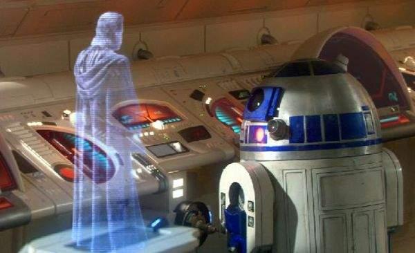 Hologram R2D2
