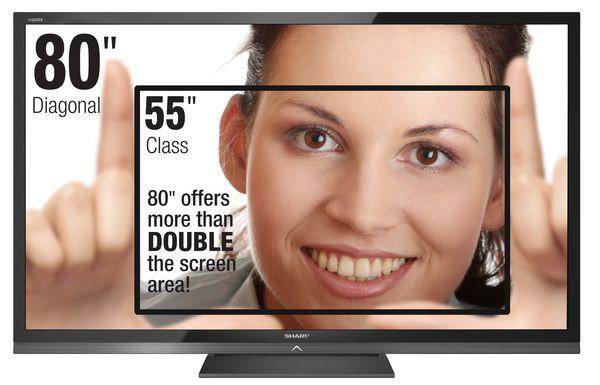 Sharp LE645E smile