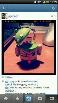 Android wylądował na Instagramie