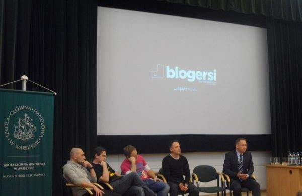 Blogersi w SGH