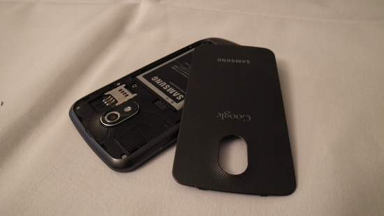 Galaxy Nexus i klapka baterii