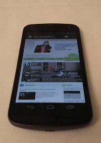 Samsung Galaxy Nexus został starannie wykonany