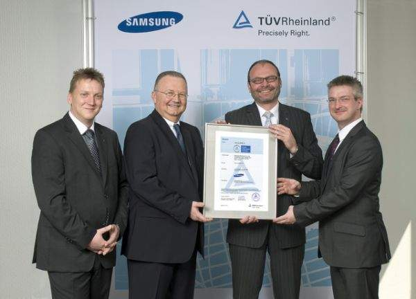 Certyfikat TUV Rheinland