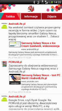 Tablica strony AndroidLife.pl