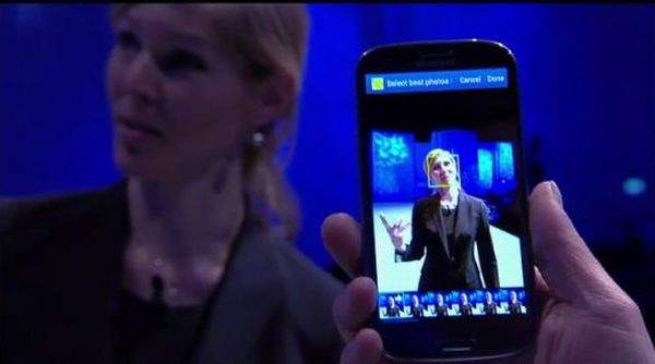 Galaxy S III aparat