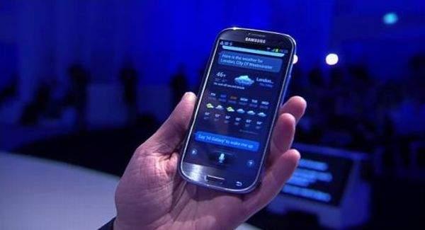 Galaxy S III funkcja SVoice