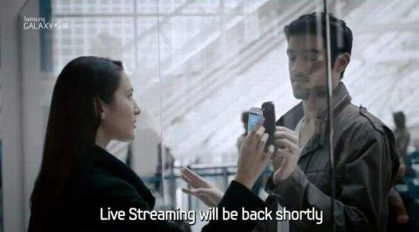 Galaxy S III funkcja SBeam