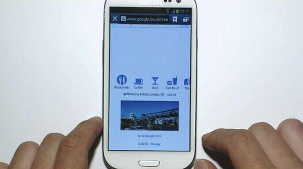 Galaxy S III funkcja Popup Play