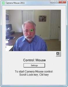 Camera Mouse - Camera Mouse