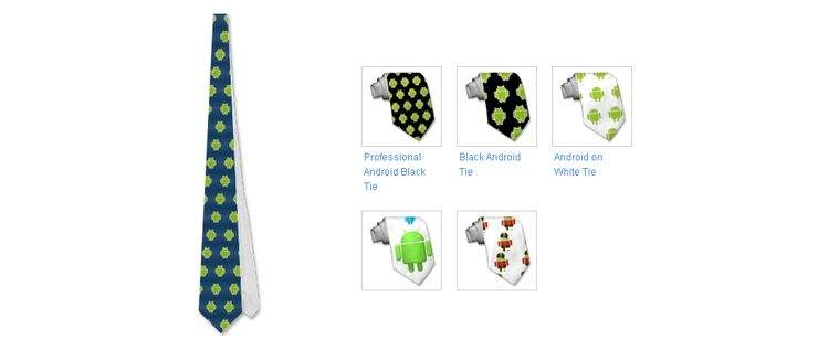 Androidowe krawaty