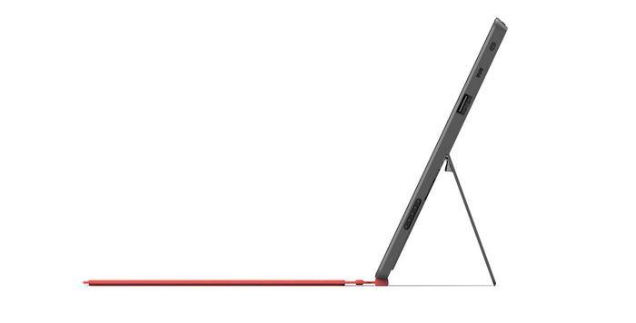 Microsoft Surface - widok z boku