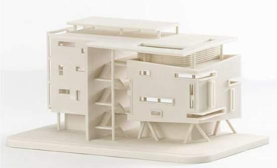 Projekt budynku mieszkalnego, element gotowy do obróbki