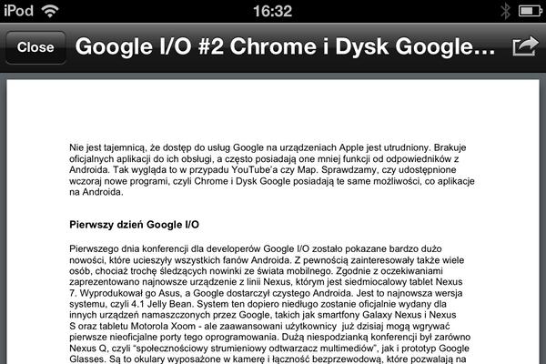 Google Drive nie pozwala na edycję