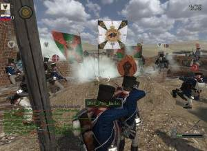 Mount&Blade Warband - Nepoleonic Wars - siege