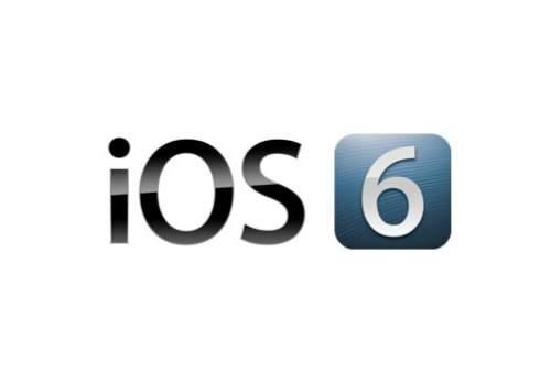 Logo systemu iOS 6
