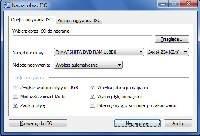 Okno nagrywania obrazu ISO w programie CDBurnerXP.