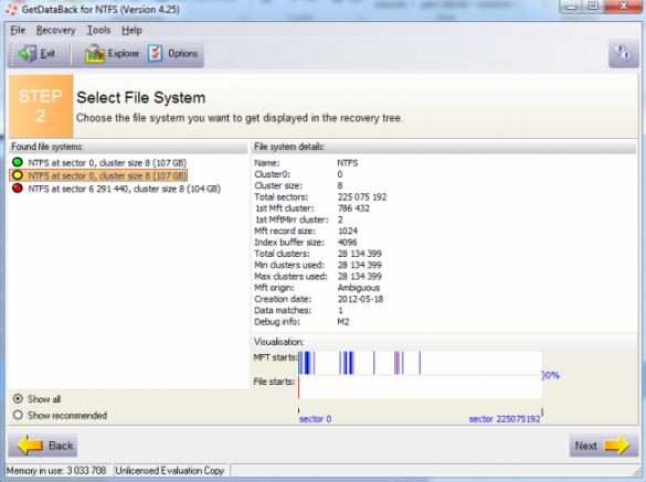 Runtime Software GetDataBack for NTFS