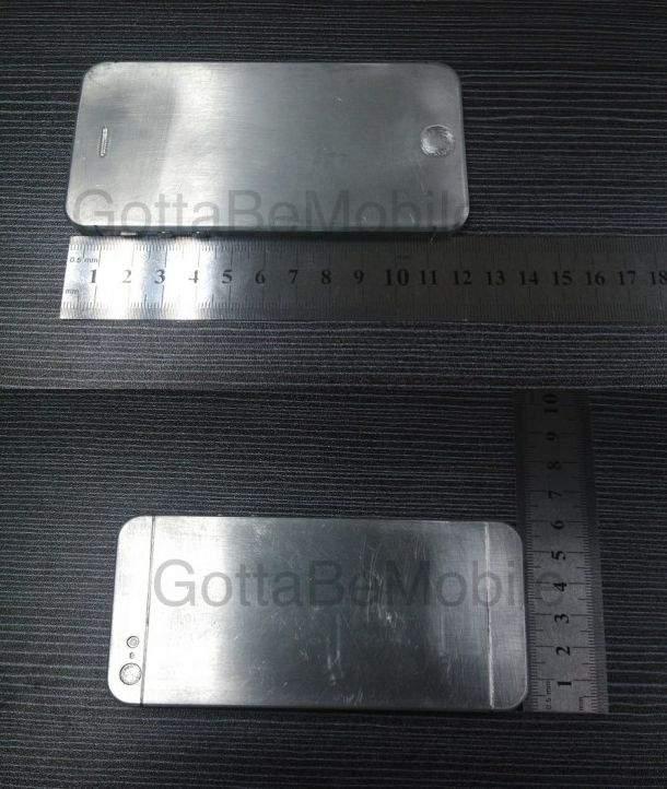Zdjęcia przedstawiające próbkę inżynieryjną iPhone'a 5