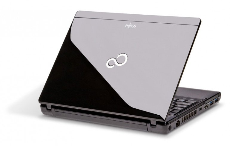 Fujitsu Lifebook P771 - klapa
