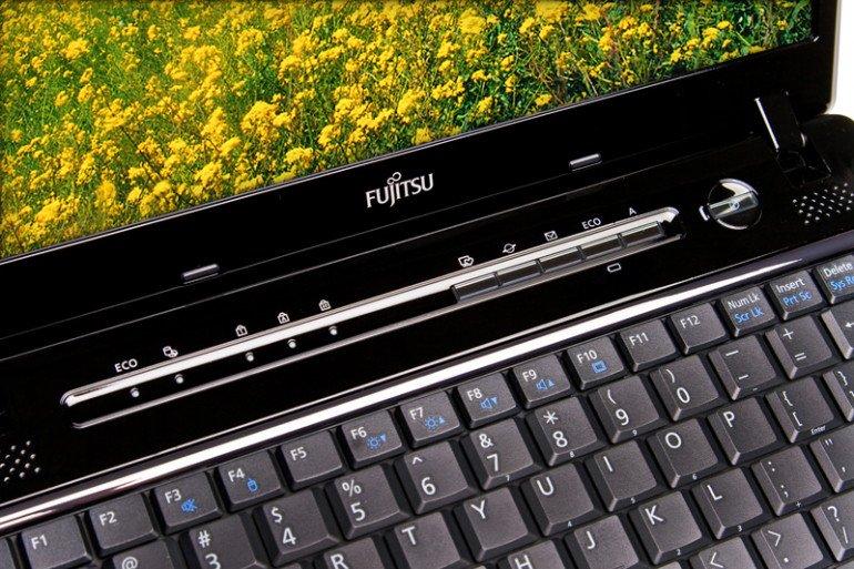 Fujitsu Lifebook P771 - dodatkowe przyciski