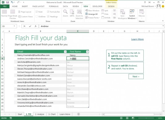 Microsoft Office 2013, Office 365 na tablecie i komputerze - pierwsze wrażenia