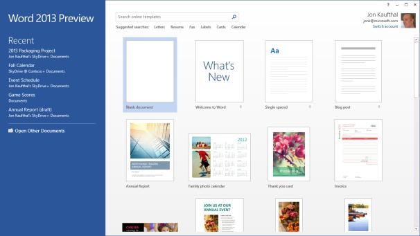 Microsoft Word naprawdę ładnie prezentuje się na tablecie