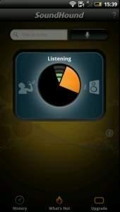 SoundHound nagrywa dźwięk