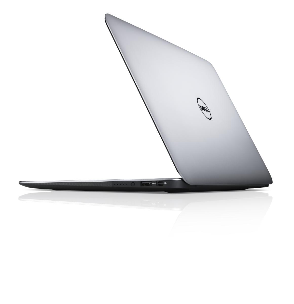 Dell XPS 13 - otwarta klapa