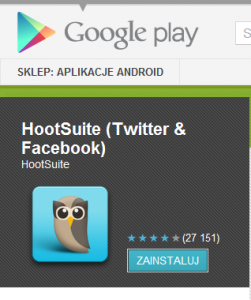 Hootsuite w Google Play