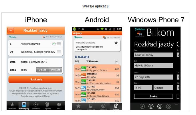 Aplikacje dla systemów mobilnych