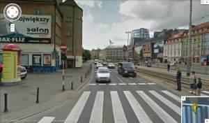 Przykładowe zdjęcie z Google Street View