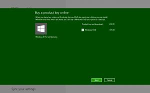 Screenshot z opcji aktywacji Windows Pro