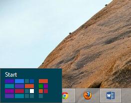 Windows 8 - start