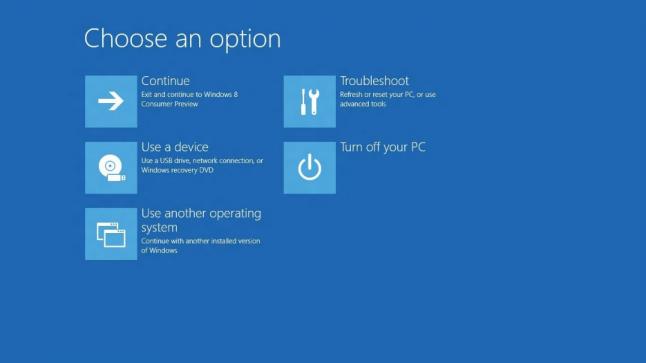 Windows 8 - UEFI