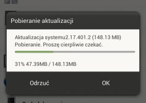 Instalowanie aktualizacji
