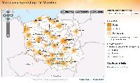 Zasięg TV Mobilnej oferowanej przez Cyfrowy Polsat
