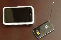 Współpraca między HTC One X oraz dekoderem M-T 5000 jest bezproblemowa