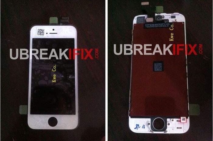 Mający należeć do iPhone'a 5 kompletny przedni panel z wyświetlaczem