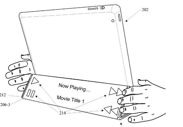 Flexible iPad cover