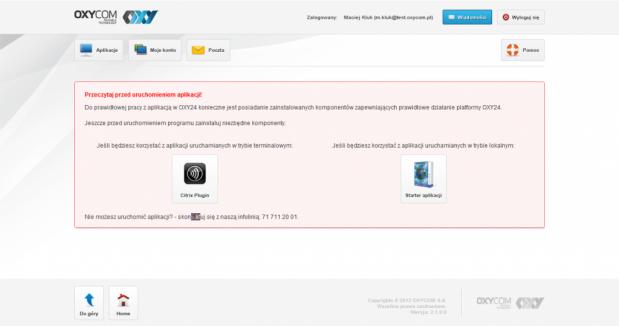 OXY24. Aplikacje uruchamiane w chmurze dostępne na komputery
