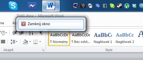 Uruchomiony zdalnie Microsoft Word wygląda jak zwykła aplikacja