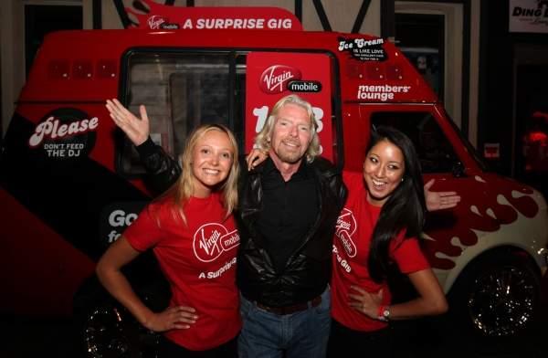 Założyciel Virgin Mobile