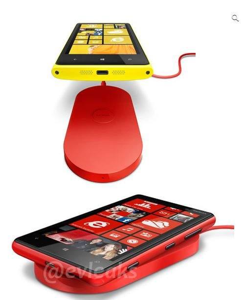 Lumia 920 z systemem bezprzewodowego ładowania